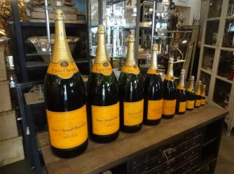 Champagneflasker - 9 stk. samling