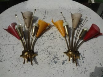 1 Pair Sconces