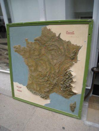 Frankrigskort