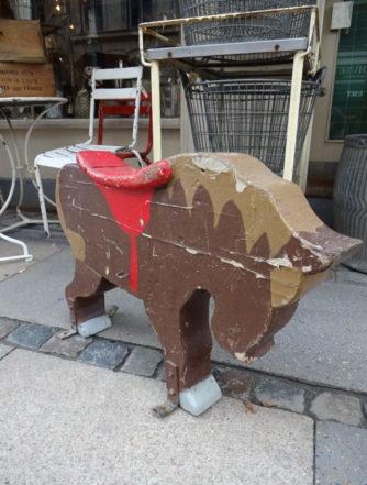 Børnekarruseldyr - Pony