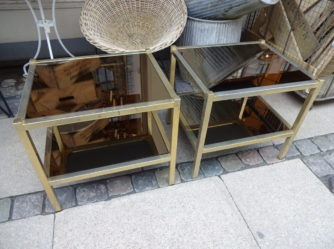 1 Pair of Side Tables