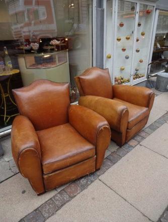 1 par Club Chairs