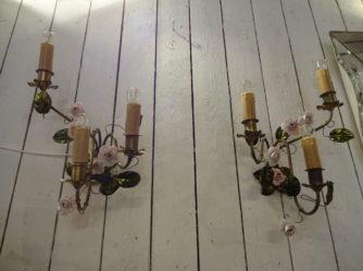 1 par væglamper