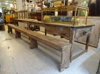 Rectory Table & Bench