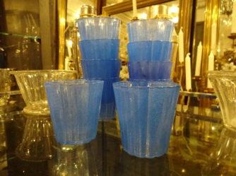 Lysglas – Blå