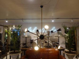 Sputnik loftkrone - stil novo