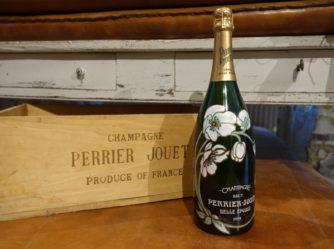 Champagneflaske – Perrier Jouët