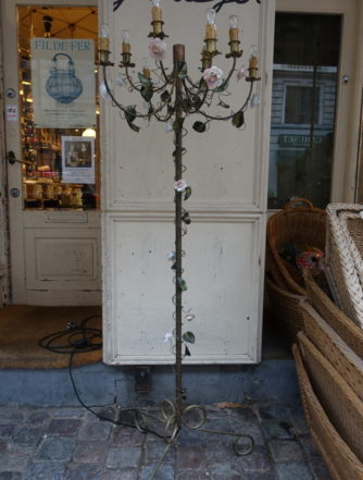 Floor Candelabra Lamp