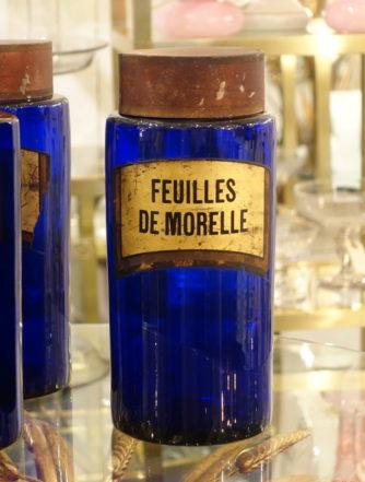 Apotekerglas – Feuilles de Morelle