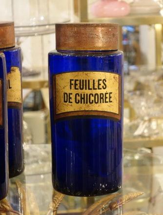 Apotekerglas - Feuilles de Chicorée