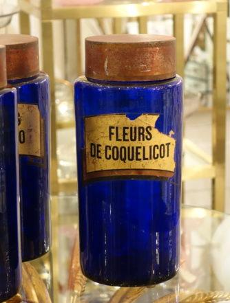 Apotekerglas - Fleurs de Coquelicot