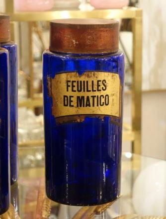 Apotekerglas - Feuilles de Matico