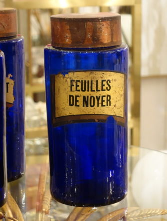 Apotekerglas - Feuilles de Noyer