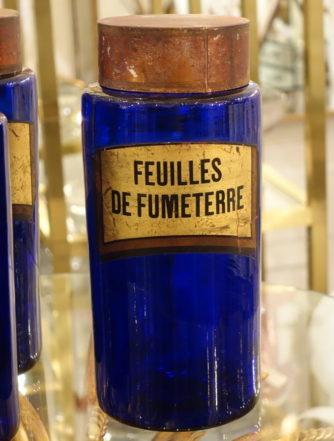 Apotekerglas - Feuilles de Fumeterre