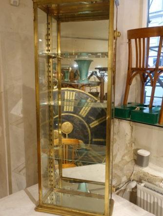 Brass Display Cabinet