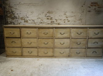 Large Apothecary Chest of Drawers