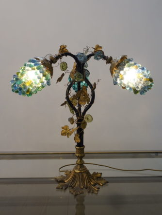 Bordlampe - Muranoglas